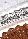 Lace trims for sewing Stock Photos