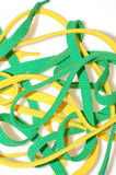Laces background Stock Images