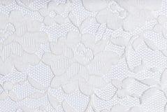 Lacet blanc sur le blanc Image libre de droits