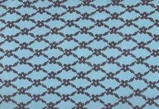 Lacet bleu. Images stock