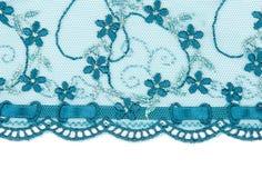 Lacet bleu Image libre de droits