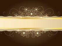 Lacet d'or illustration libre de droits