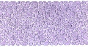 Lacet lilas Images libres de droits