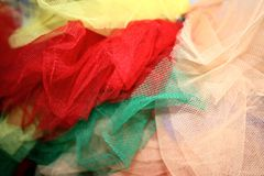 Lacet multicolore Photographie stock libre de droits