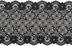 Lacet noir Photos stock