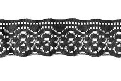 Lacet noir Images stock