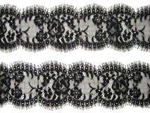 Lacet noir photographie stock