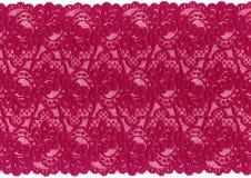 Lacet rouge Photo libre de droits