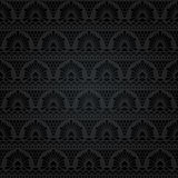 Lacet sans joint Configuration florale abstraite Image libre de droits