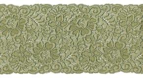 Lacet vert Image libre de droits