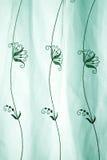 Lacet vert abstrait Images stock