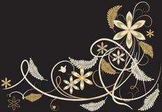Lacets d'or illustration libre de droits