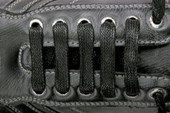 Lacets de chaussure Photo libre de droits