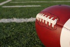 Lacets du football Image libre de droits