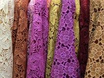 Lacework colorido Foto de archivo libre de regalías