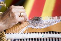 Lacework européen Images libres de droits