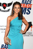 Lacey Chabert arrives at the 19th Annual Race to Erase MS gala Royalty Free Stock Image