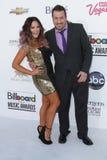 Lacey Schwimmer und Joey Fatone an den Anschlagtafel-Musik-Preis-Ankünften 2012, Mgm Grand, Las Vegas, Nanovolt 05-20-12 Stockfotos
