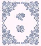 Lacez la trame Arbre de fleur du clip art illustration de vecteur