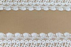 Lacez la trame de tissu Image stock