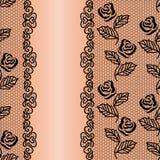 Fond floral de dentelle Image stock