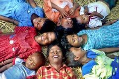 Lachen - eine Sprache der Freude Lizenzfreies Stockfoto