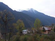 Lachen och Lachung by, Sikkim INDIEN, 14th APRIL 2013: ett s Arkivbild
