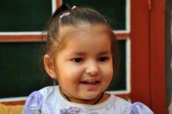 Lachend babymeisje Stock Fotografie