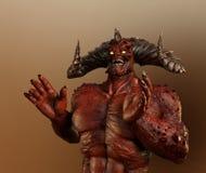 Lachend Demon stock afbeeldingen