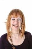 Lachend meisje Stock Fotografie
