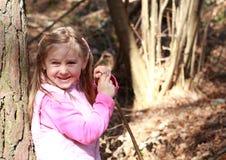 Lachend meisje Royalty-vrije Stock Foto
