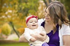 Lachend Weinig Meisje van de Baby Royalty-vrije Stock Afbeelding
