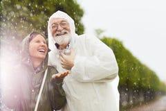 Lachende Ältere stockfotos