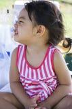 Lachende baby Royalty-vrije Stock Fotografie