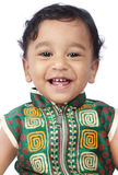 Lachende Indische Leuke Baby Royalty-vrije Stock Afbeelding