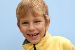 Lachende jongen Royalty-vrije Stock Afbeeldingen
