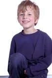 Lachende jongen Royalty-vrije Stock Foto's