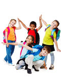 Lachende Kinder Lizenzfreie Stockfotos