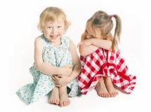 Lachende meisjes Stock Foto's