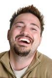 Lachende Mens stock afbeeldingen