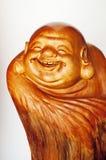 Lachender Buddha Stockfotografie