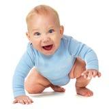 Lachendes Baby Stockfoto