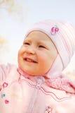 Lachendes kleines Mädchen Lizenzfreie Stockfotografie