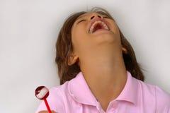 Lachendes Mädchen Lizenzfreies Stockbild