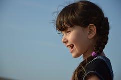 Lachendes Mädchen Stockbilder