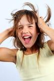 Lachendes Mädchen Stockfotos