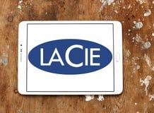 LaCie-Computerhardware-Firmenlogo Lizenzfreie Stockfotos