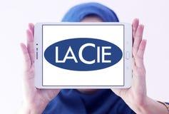 LaCie-Computerhardware-Firmenlogo Lizenzfreie Stockfotografie