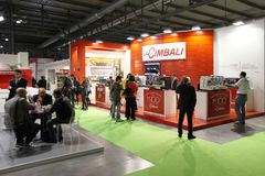 LaCimbali at Tuttofood Milano World Food Exhibition 2013 Stock Image