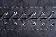 Lacing fabric Royalty Free Stock Photo